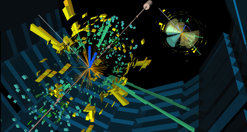 Higgs Boson CERN. God Particle